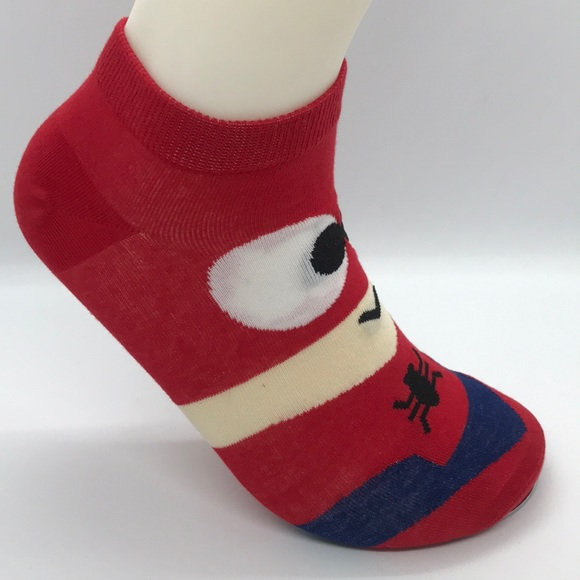 Other - Spider-Man Character Ankle Socks